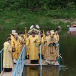 Освящение воды в реке