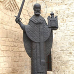 Памятник Николаю Чудотворцу, Бари, Италия